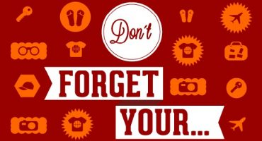Don't forget your…