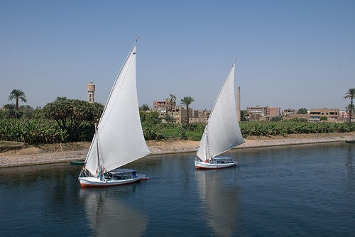Felucca by Norm Walsh @ Flickr