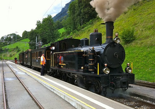 Steam train by andynash @ Flickr