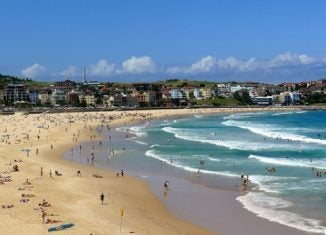 bondi beach sydney christmas