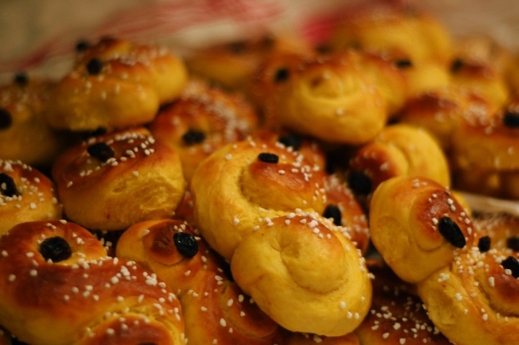 Lussekatt from Sweden