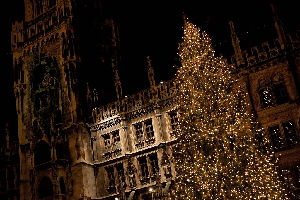 Munich during Christmas