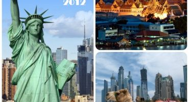 Opodo's top searched destinations 2012