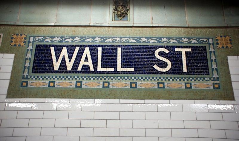 USA_New York City_Wall Street