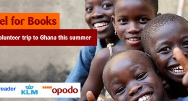 Travel for Books – Win a volunteer trip to Ghana