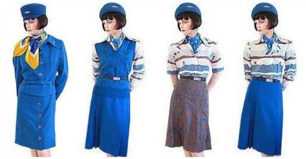 KLM uniforms 1970s