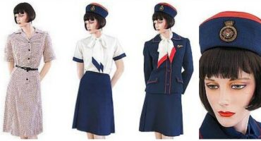 Flight attendants' uniforms – 1970s