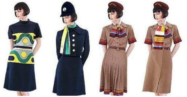 iberia uniforms 1970s