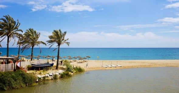 The Mediterranean beaches in Andalucia are beautiful and varied