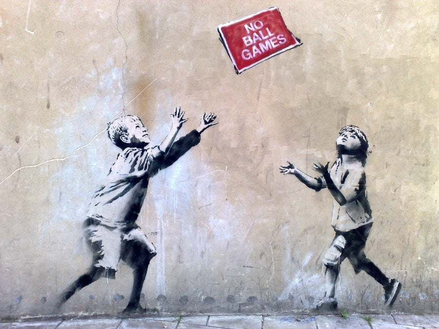 The most spectacular street-art by Banksy - Opodo Travel Blog