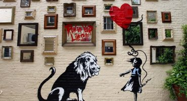 The most spectacular street-art by Banksy