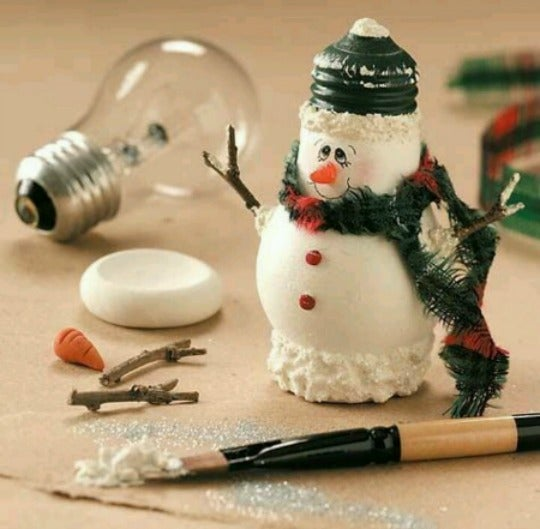 Snowmen bulbs