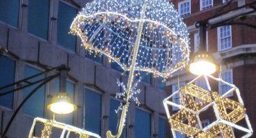 Cities worldwide shine with festive lights