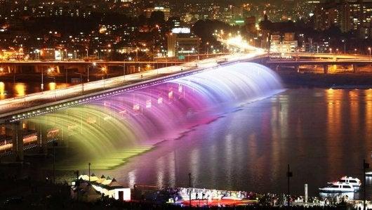 Banpo Bridge, Seoul, South Korea