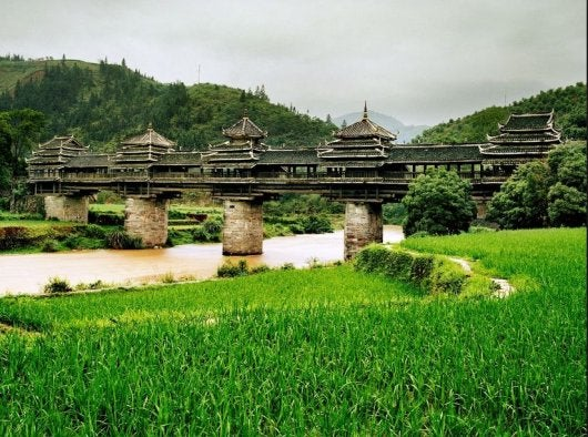 Chengyang Bridge, Sanjiang, China