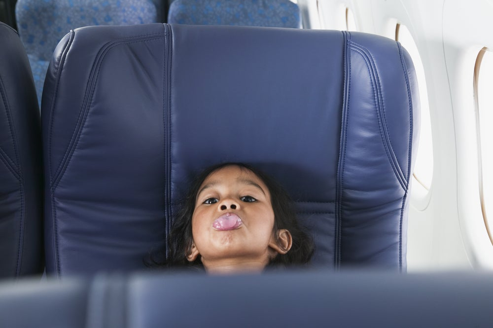 Child-free flights