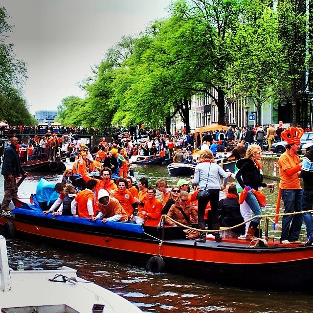 Queens Day, now Kings Day