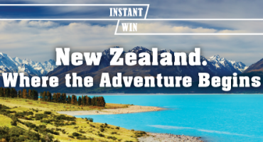Win a Pair of Tickets to Auckland!