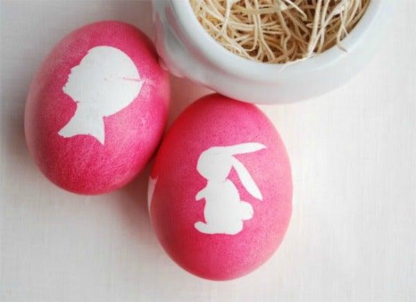 silhouette eggs