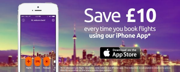 Opodo iPhone app