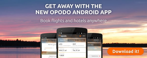 Opodo android app