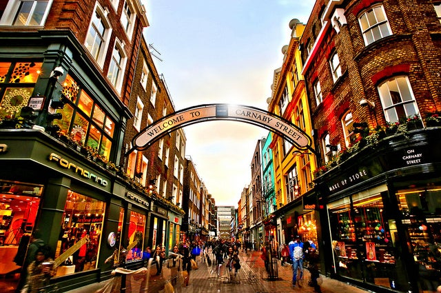 Carnaby Street, London Happy Hour