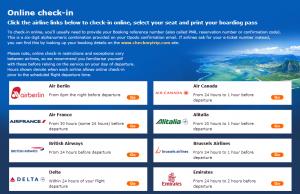 opodo online check in webpage screenshot