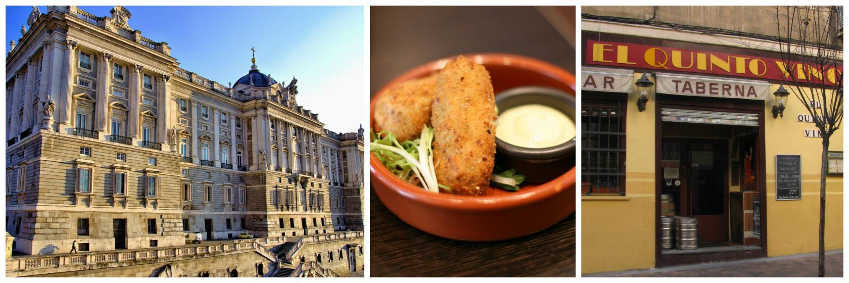 Croquettes are an ideal comfort food in Madrid