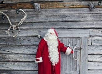 Santa Claus in Lapland, Finland