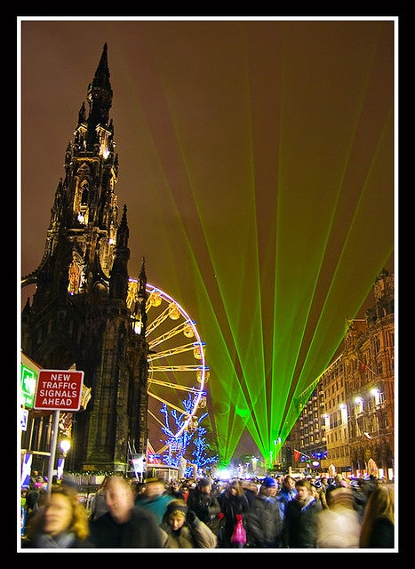 Edinburgh for New Year