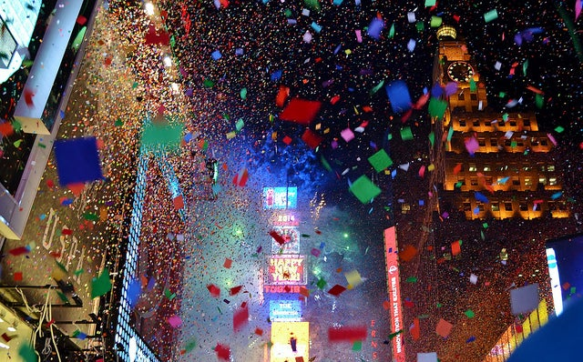 New York City during New Year's