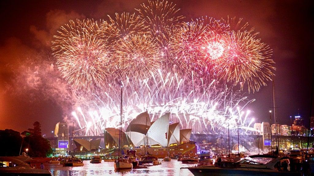 Sydney Australia on NYE