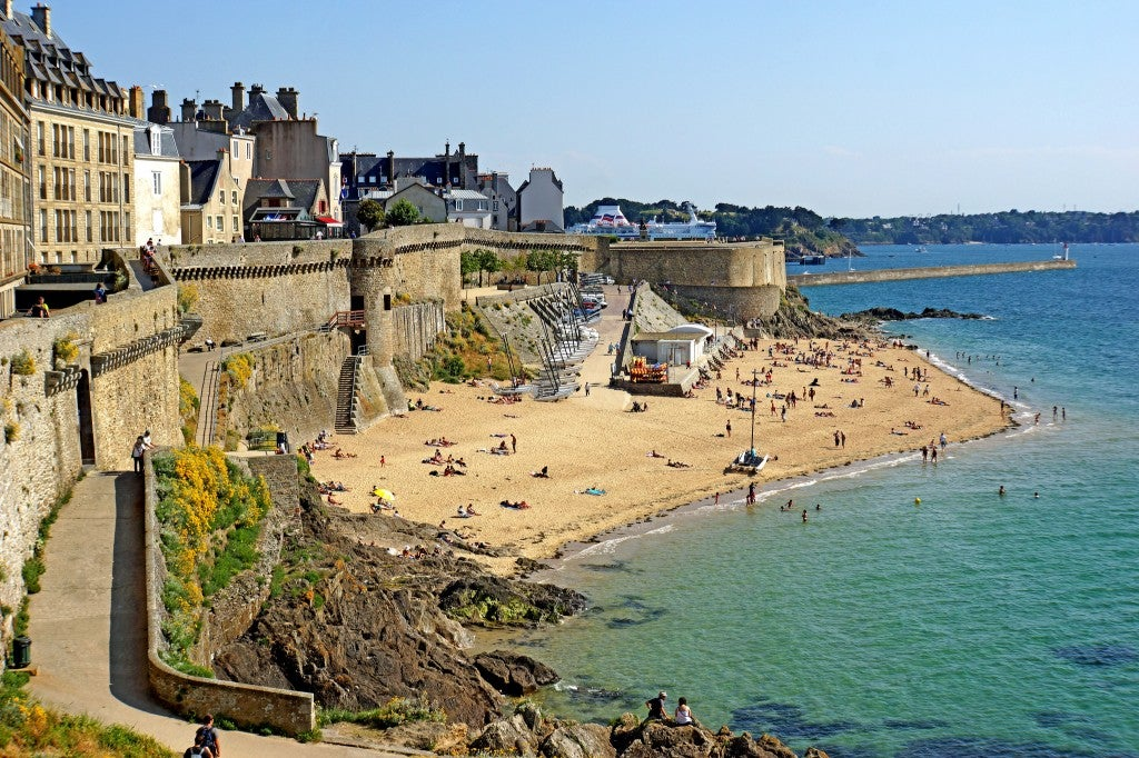 Bonsecours Bathing Beach, Brittany, France