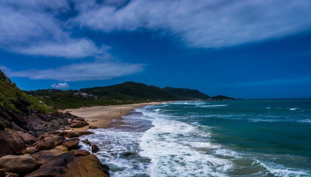 Florianopolis, Brazil coast