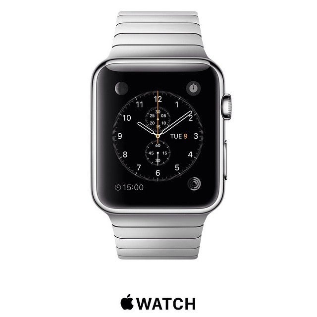 The new Apple watch releases April 24, 2015