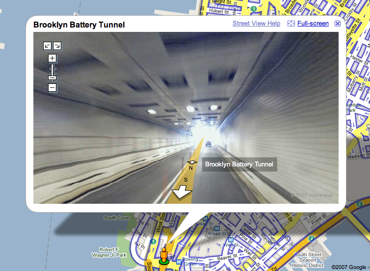Augmented reality maps via Pyramis on Flickr