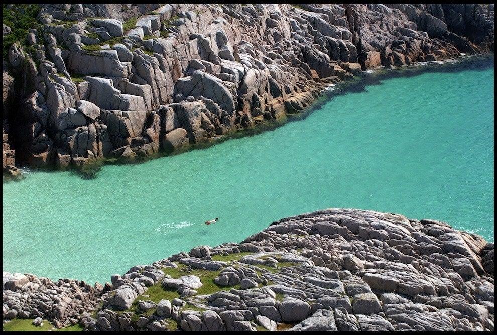 Knockvologan sur l'île de Mull