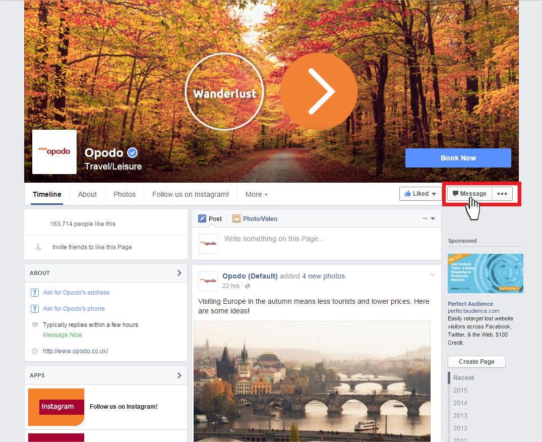 facebook-message-opodo