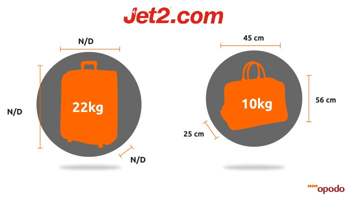 luggage size jet2 - Opodo travel blog