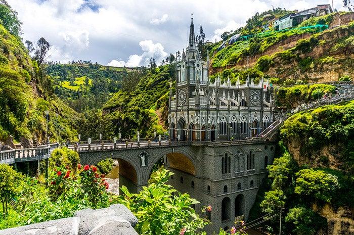 Las Lajas Sanctuary in Ipiales, Colombia