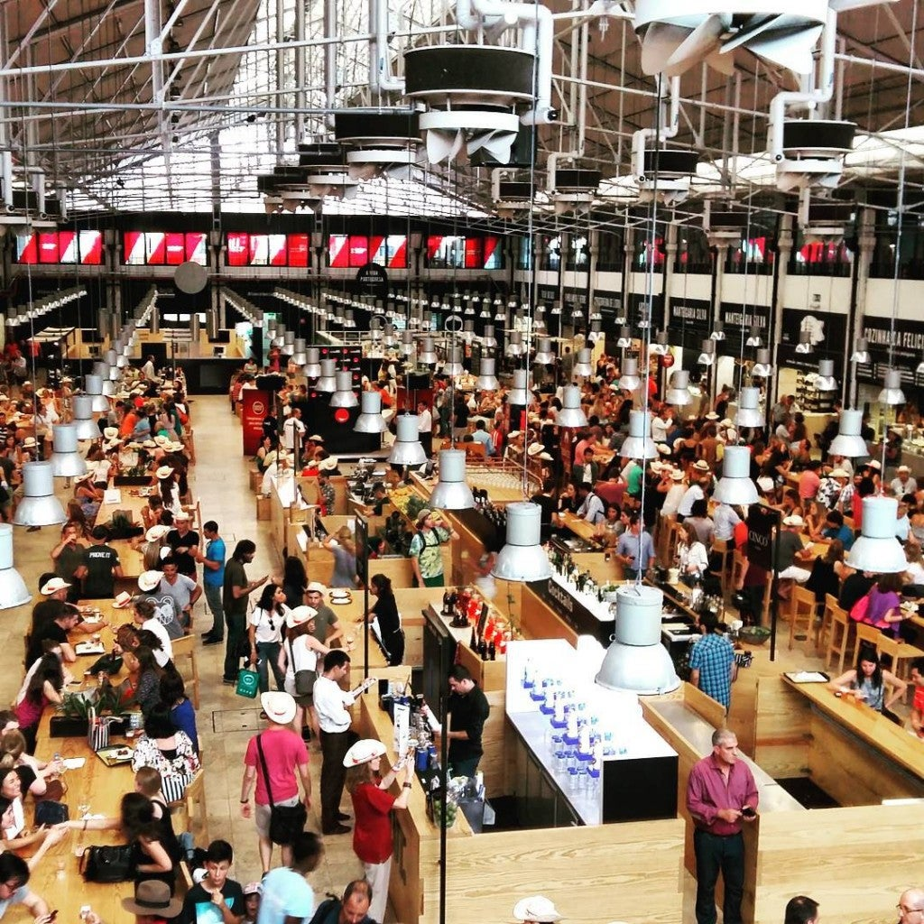 Mercado da Ribeira Lisbonne - blog Opodo