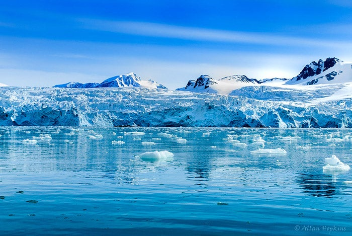 Icy Svalbard, between Norway and the North Pole