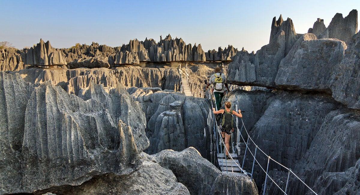 Hiking around Madagascar