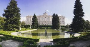 the madrid royal palace