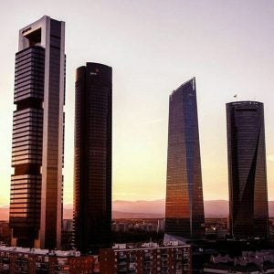 skyscrapers in madrid