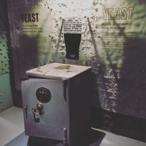 a safe at the guinness factory dublin