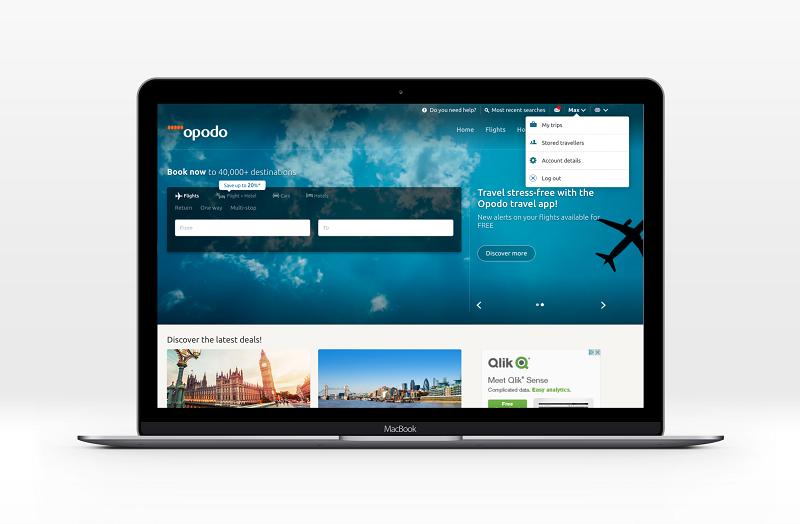 opodo homepage login my trips