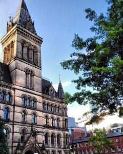 the town hall in manchester uk