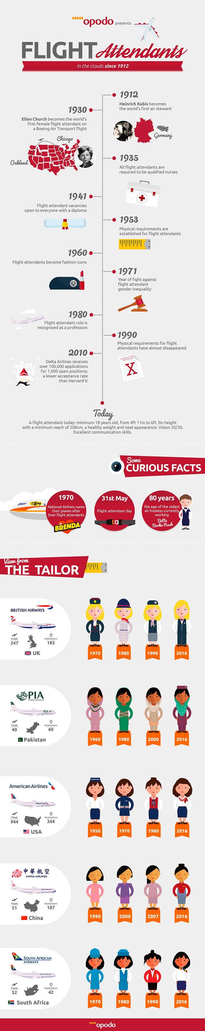"""Infographics flight attendants"
