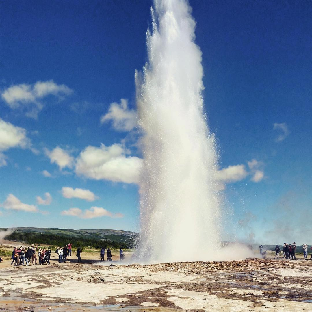 The Great Geysir Iceland